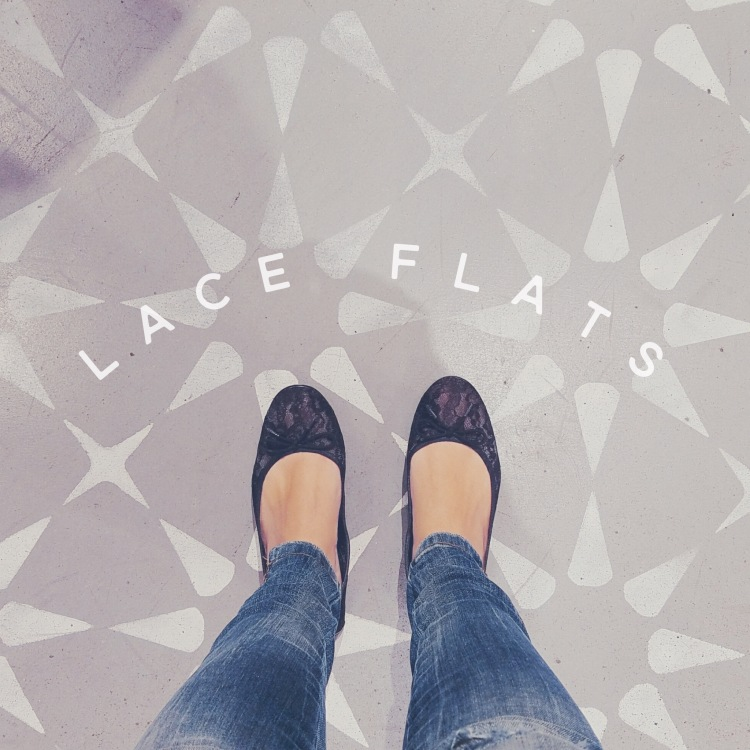 Lace Flats, Banana Republic, Lace Shoes