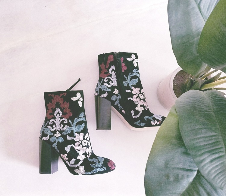 Rebecca Minkoff Embroidered Boots